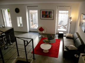 Apartment Loft style in Marseille - 1 bedroom
