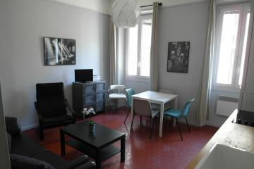 1 bedroom of City affair apartments in Marseille Cinq Avenues