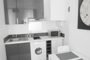 Apartment Black and white