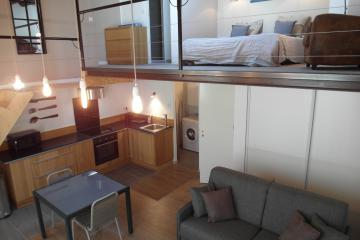 1 bedroom of Moliere 4G Apartment Opéra