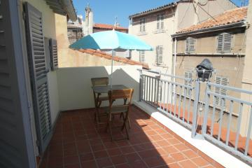 1 bedroom of Sky View Apartment Le Panier