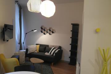 1 bedroom of Vasarely apartments in Marseille Lodi