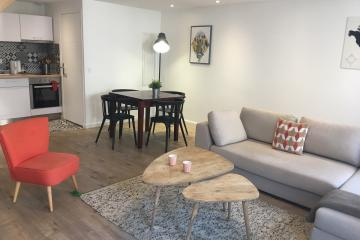 2 bedrooms of Duplex en Ville Marseille apartments Castellane