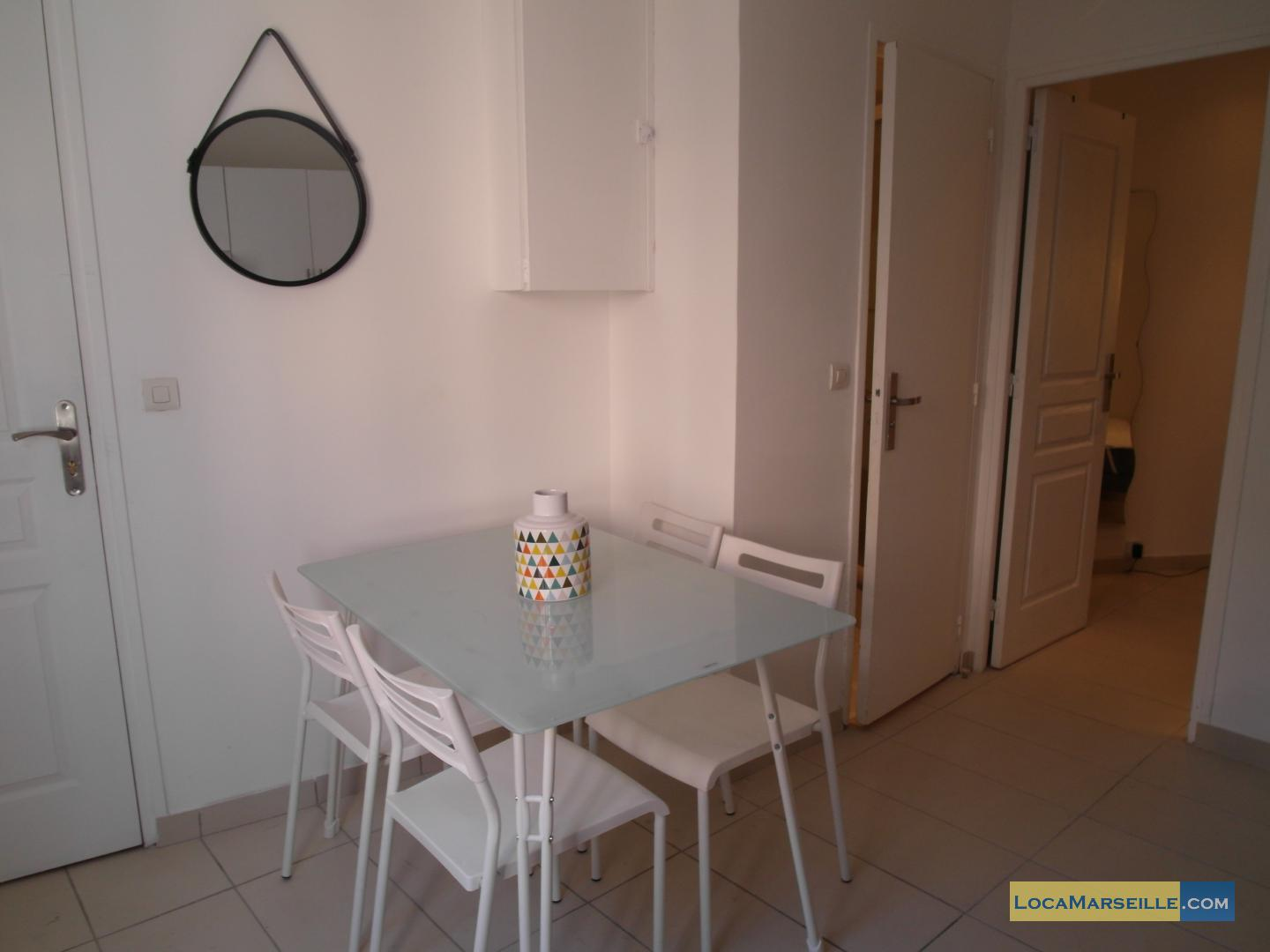 Furnished Studio For Rent In Marseille 2nd District