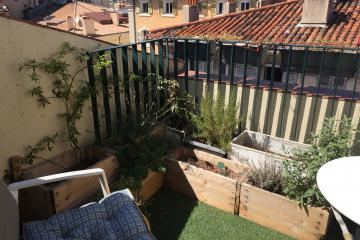 2 bedrooms of Duplex Fortia apartments in Marseille Vieux Port