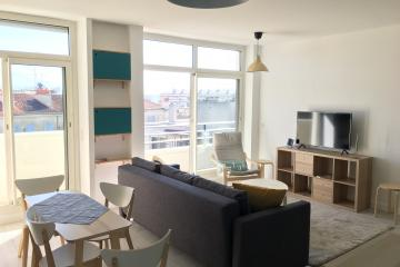 1 bedroom of Balcon du Panier Marseille apartment rentals Vieux Port
